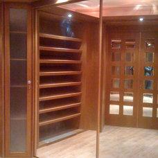 Contemporary Closet by Rania Ramzi