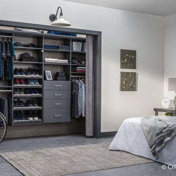 Reach-In Bedroom Closet