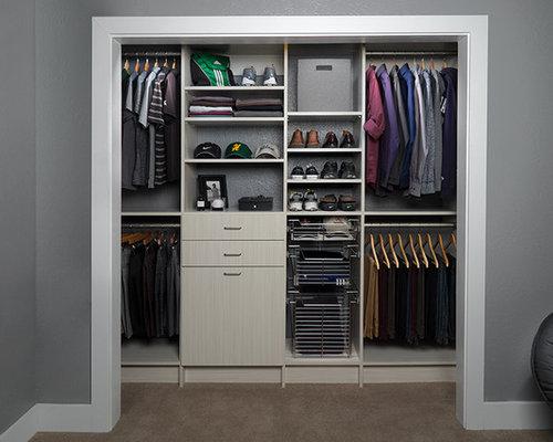 Small Closet Design Ideas, Remodels & Photos