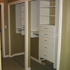 Traditional Closet by California Closets San Diego