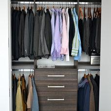 Contemporary Closet by Monika Kerstens