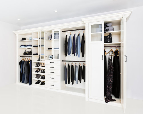 Reach In Closet Organization Home Design Ideas, Pictures, Remodel and Decor