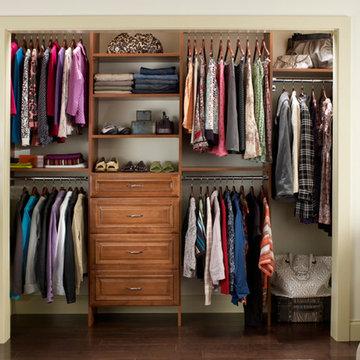 Reach-In Closet Organizers