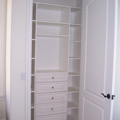 Marvelous Reach In Closet   White Melamine W/Drawers