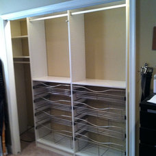 Contemporary Closet by Bella-Systems Philly