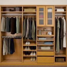 Contemporary Closet by Closets by Design