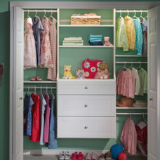 Modern Closet by Carson Closets & Cabinetry