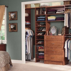 Traditional Closet by Tailored Living featuring PremierGarage