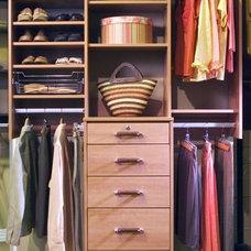 Traditional Closet by Closets to Go