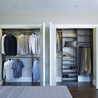 Foto på en funkis garderob