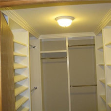 Traditional Closet by Cypress Construction & Remodeling