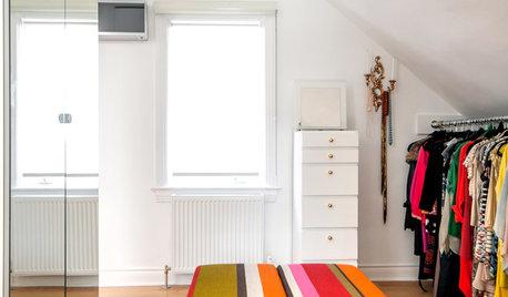 Курсы кройки жилья: Идеи нестандартного размещения гардеробной комнаты