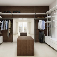 contemporary closet by Mayor of Hardware