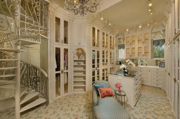 Mediterranean Closet by Patrick Berrios Designs