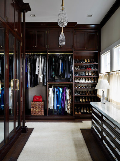 Traditional Closet by Phoebe Howard