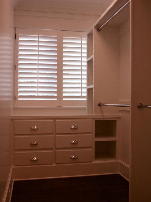 Windows in master closet houzz - Houzz master bedroom walk in closets ...