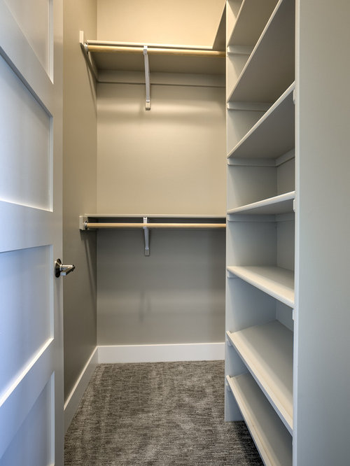 closet design ideas, remodels & photos with beaded inset cabinets