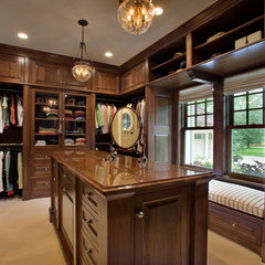 traditional closet by Murphy & Co. Design