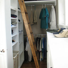 Traditional Closet by CS Hardware