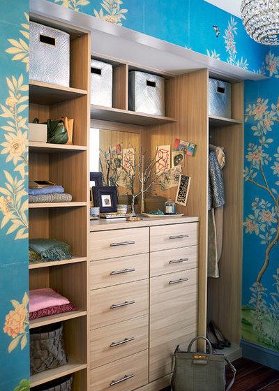 Contemporary Closet by Mehditash Design