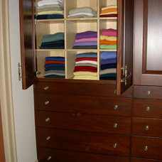 traditional closet by RSG WoodWorks