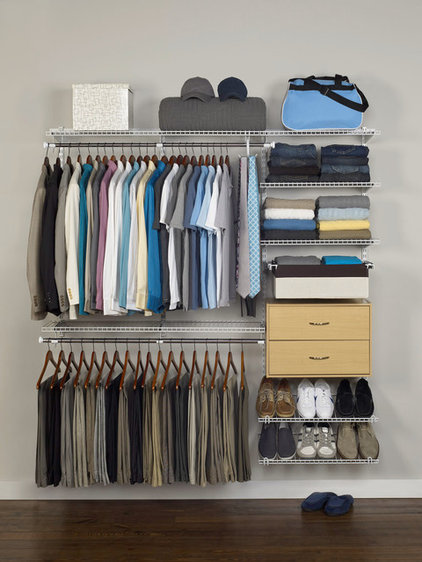 Traditional Closet by Rubbermaid