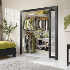 Contemporary Closet by Rubbermaid