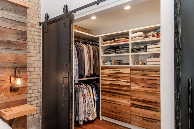 Industrial Closet by Haven Builders Inc