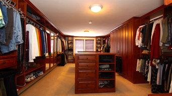 Rye, NH Walk-in Closet