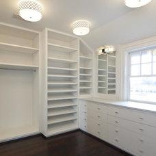 Traditional Closet by Michael Davis Design & Construction