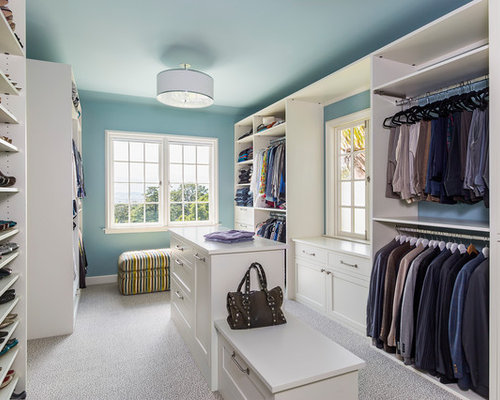 Transitional Closet Design Ideas Remodels Photos