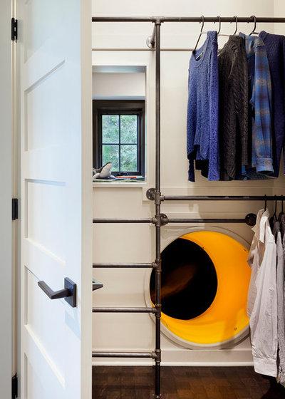 Rustic Closet by NB Design Group, Inc