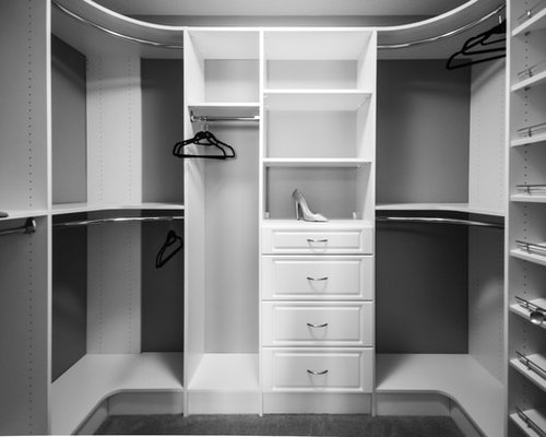 Best Curved Closet Rod Design Ideas Amp Remodel Pictures Houzz