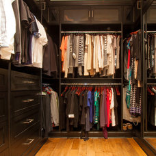 Traditional Closet by Harbour City Kitchens