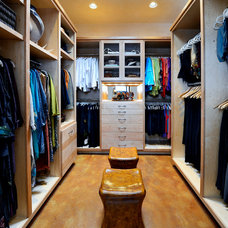 Traditional Closet by Kathleen Jacobson, The Couture Closet