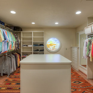 Example of a southwest closet design in Omaha
