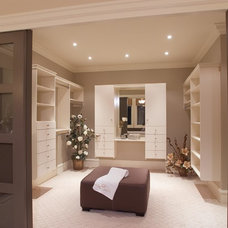 Traditional Closet by tdSwansburg design studio