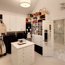 Traditional Closet by Sazama Design Build Remodel