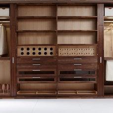 Contemporary Closet by Eggersmann Kitchens   Home Living