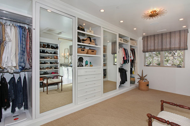 Beach Style Closet by Patterson Custom Homes