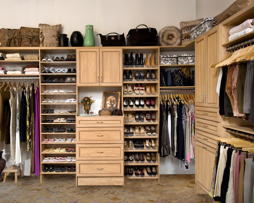 Secret Women's Walk In Closet Organizer