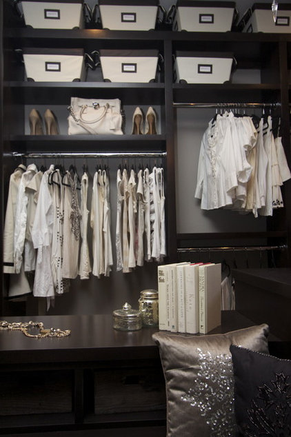 Traditional Closet by Robeson Design