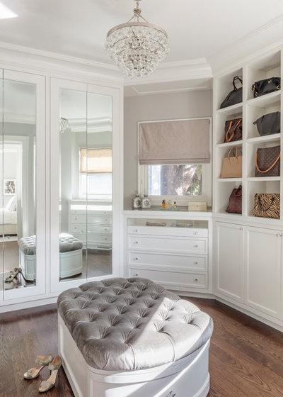 Transitional Closet by Plath & Company