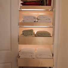 Traditional Closet by ShelfGenie of Greater Houston