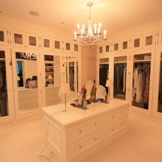 Contemporary Closet by Overmyer Architects