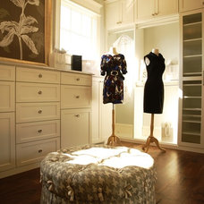 Traditional Closet by VanBrouck & Associates, Inc.