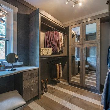 Shower, Flooring, &  Vanity