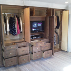 Traditional Closet by James Anderson LLC. Design & Build