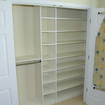 Simple Reach-In Closet