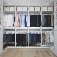 contemporary closet by California Closets